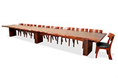 Jahroc-6m Slab Jarrah Dining Table