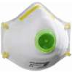 Valved Dust Mask